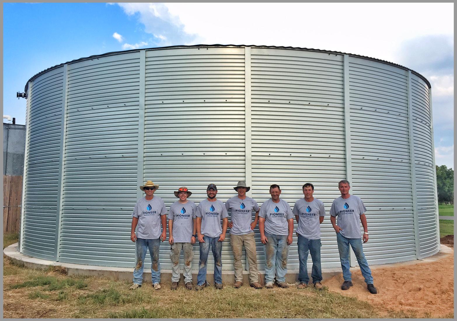 Texas water tanks