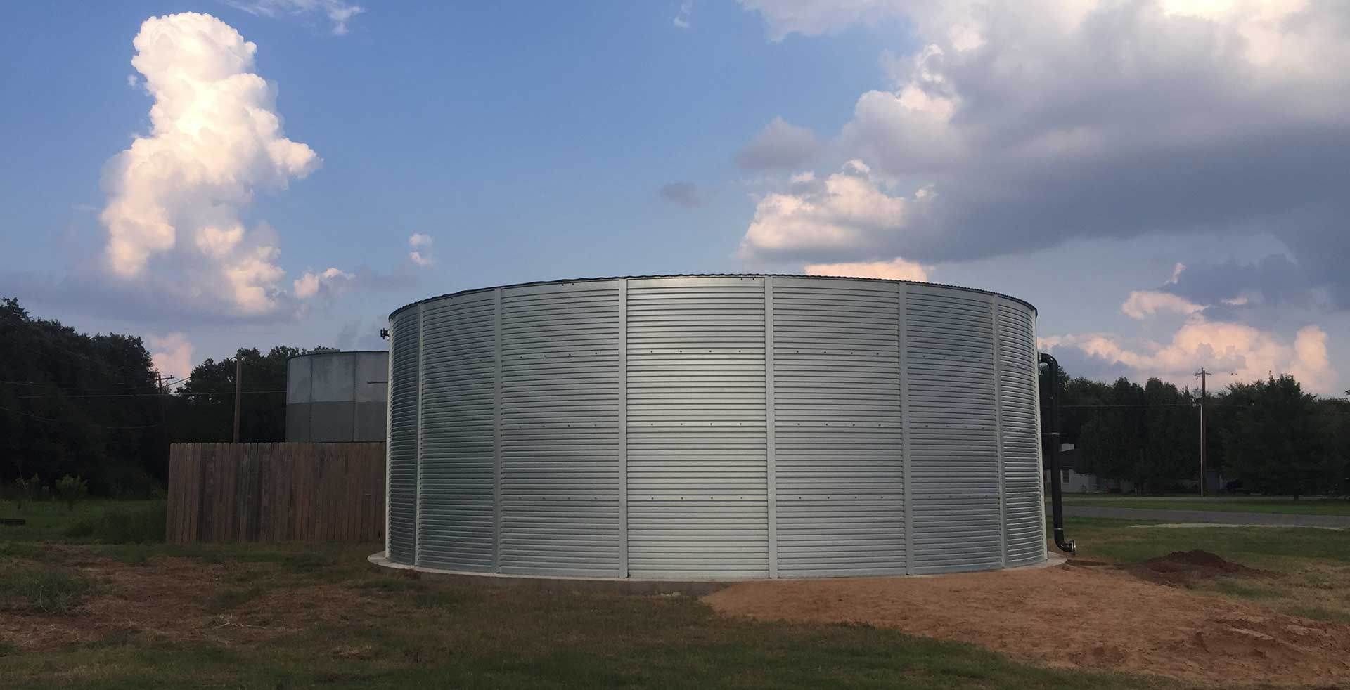 Commercial water systems Pioneer Water Storage Tanks