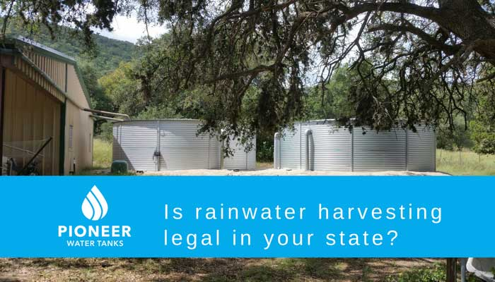 is rainwater harvesting illegal in your state