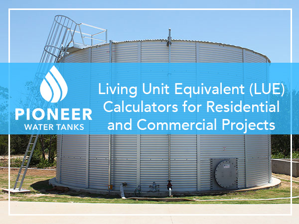 LUE Living Unit Equivalent Water Usage Requirements
