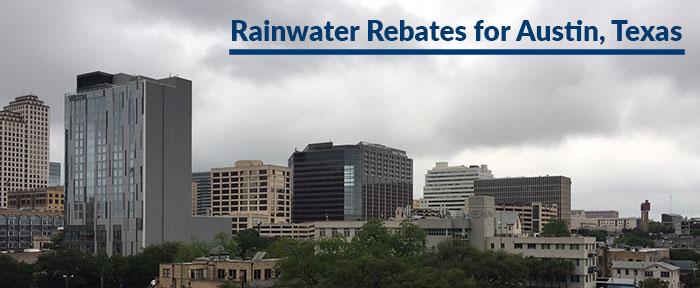Austin Texas rainwater rebates