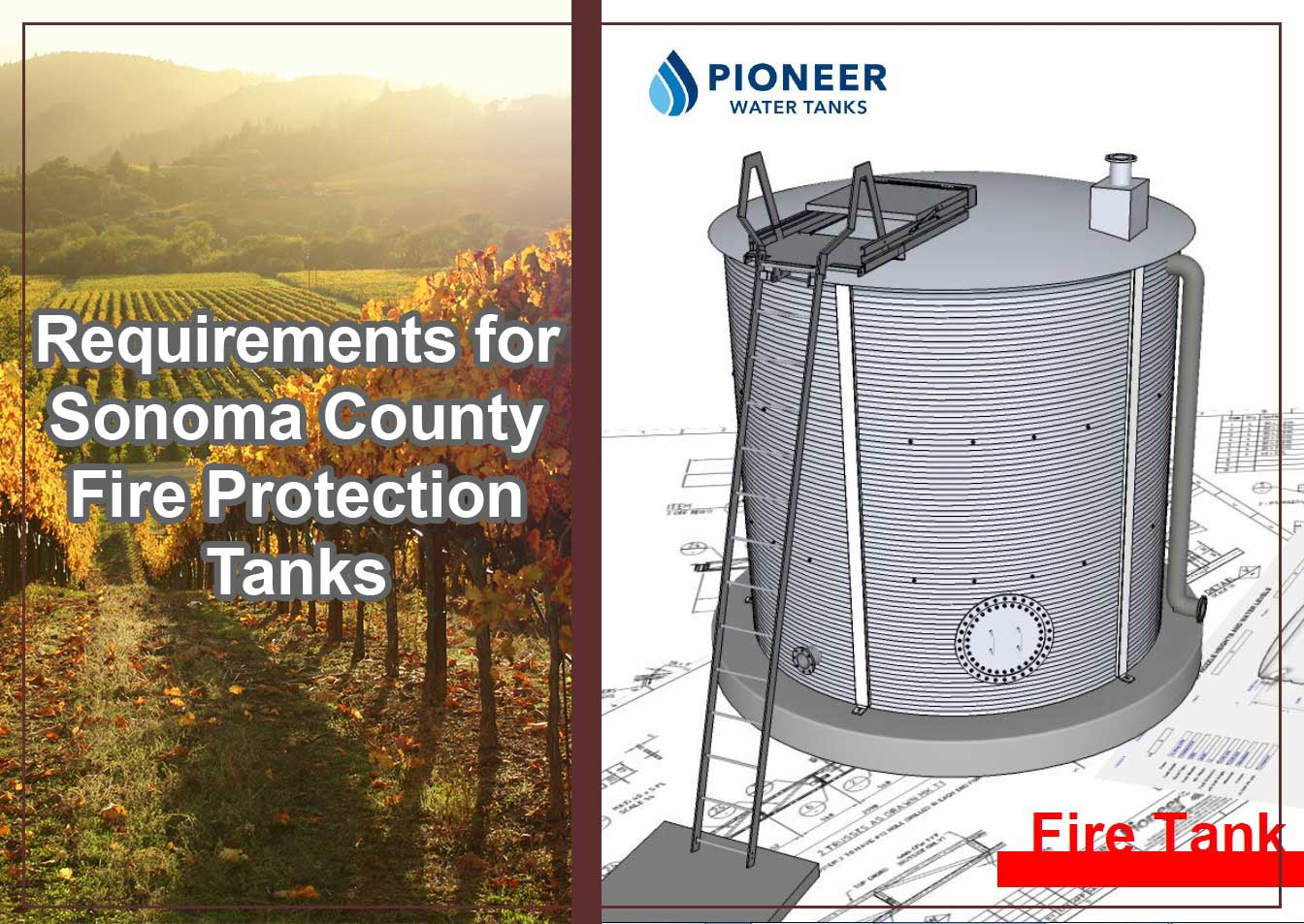 Sonoma fire protection tanks