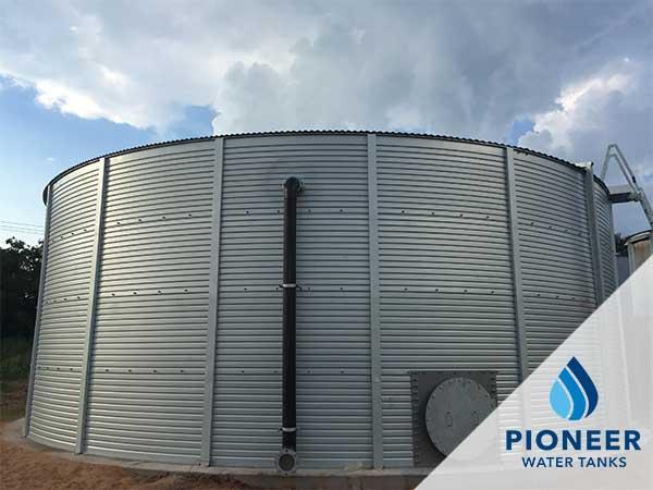 Commercial water storage tanks Pioneer industrial
