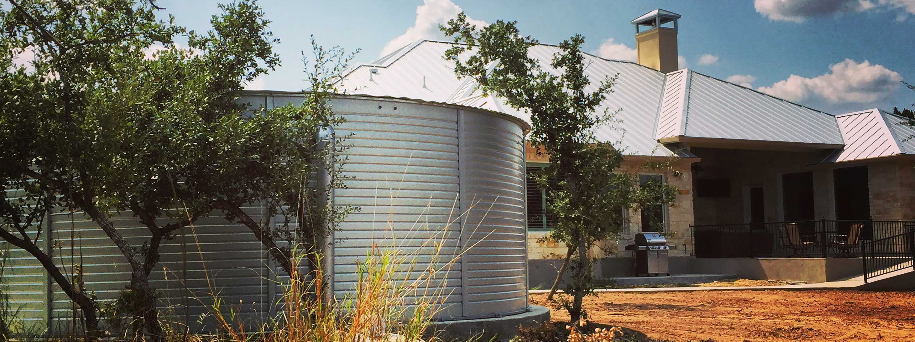 Drinking water storage tanks