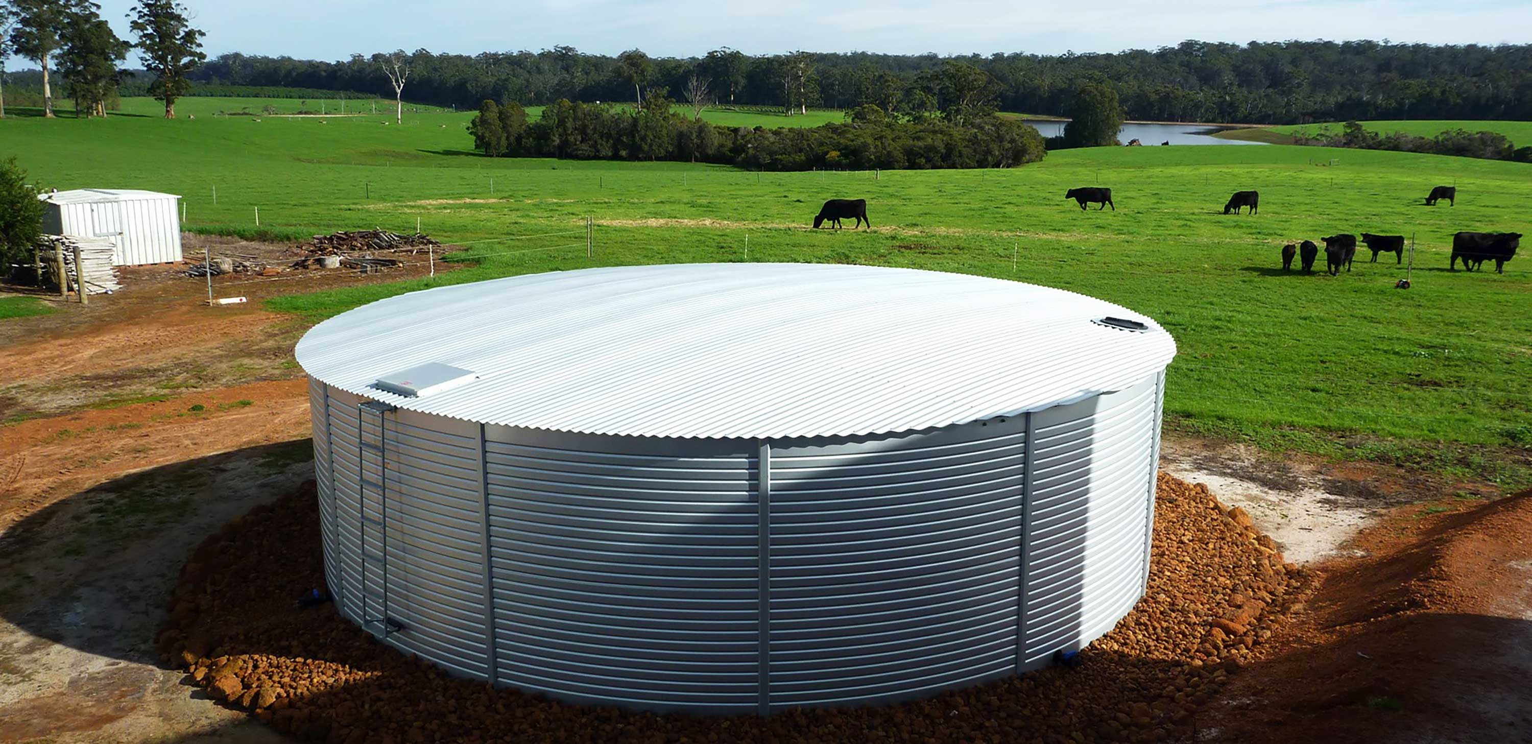 Livestock water tanks