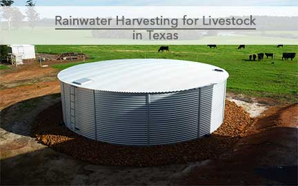 Livestock water tanks rainwater tanks