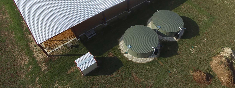 Texas water storage tanks