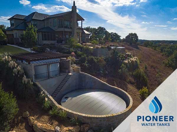 Residential water system Pioneer tanks