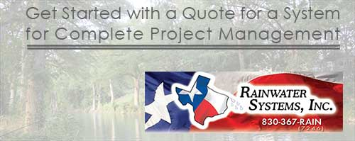 New Braunfels Texas rainwater system rebates and incentives