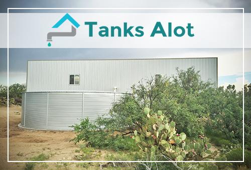 Tanks Alot Texas water tank sale