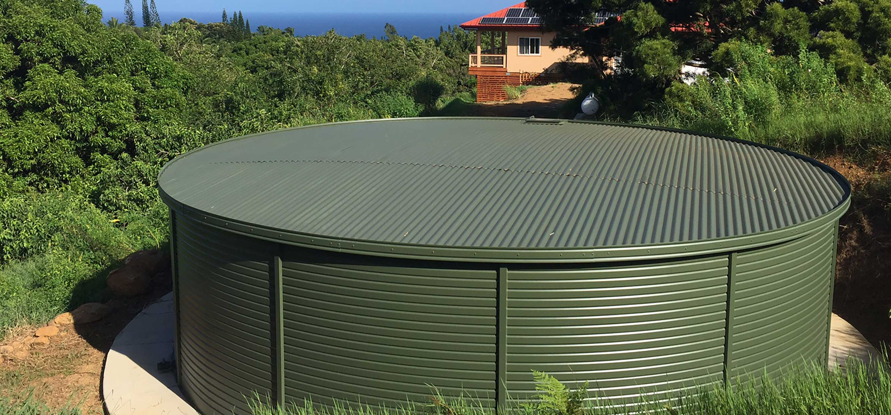 Residential water storage systems