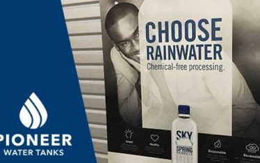 Sky Springs rainwater collection bottled water