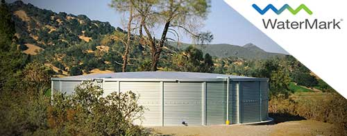 California water storage Watermark rainwater collection