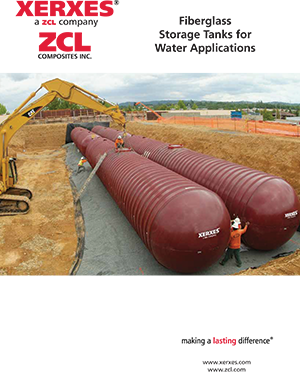 XerXes underground water storage tanks catalog cover