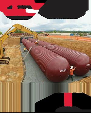 XerXes underground water storage tanks catalog cover