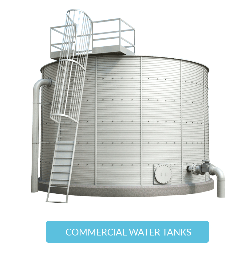 Commercial water storage tanks Pioneer Water Tanks