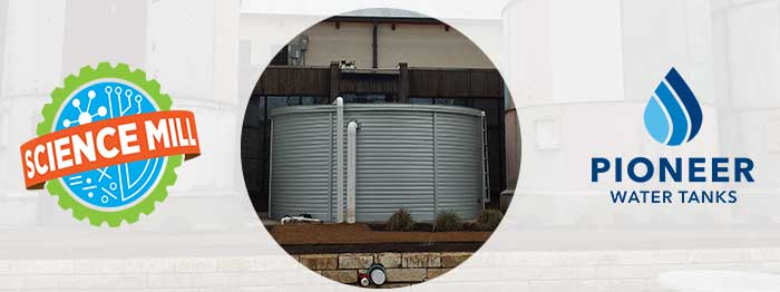 Texas Hill Country Pioneer Water Tanks rainwater system