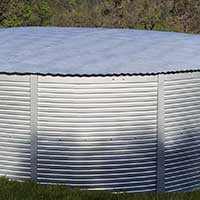 Pioneer Water Tanks bolt strip covers