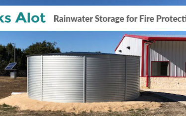 Tanks Alot rainwater system for fire protection