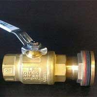 Brass outlets Brass valves