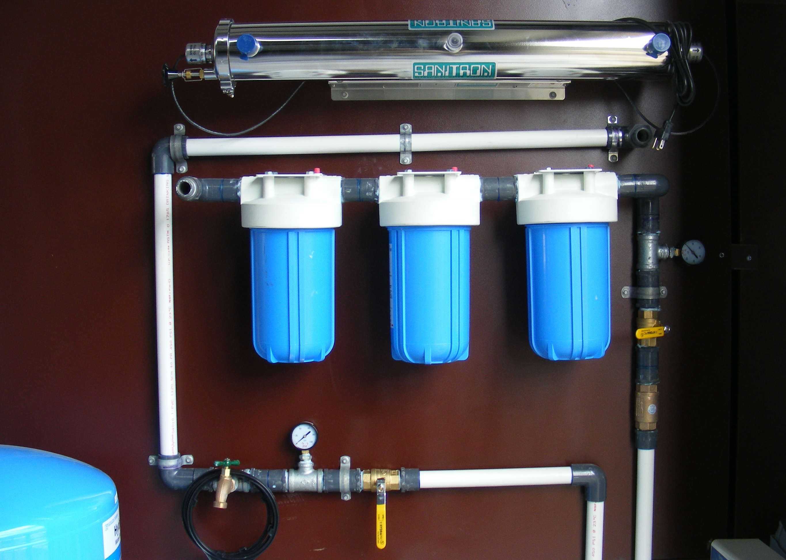 Sanitron Uv Filter System